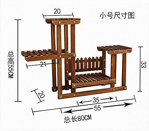 Massivholz Blume Regal Montagewerk Architektur, (Architektur Blumen)