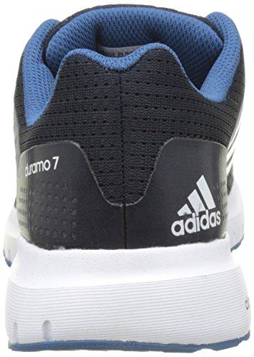 adidas Duramo 7, Chaussures de Running Entrainement Femme Bleu (Night Navy/Ftwr White/Core Blue)