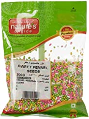 Natures Choice Sweet Fennel Seeds, 200 gm, 20160099