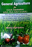 General Agriculture For I. C. A. R. Examinations (J. R. F. , Ph. D, S. R. F. & A. R. S. ), 24th Edition