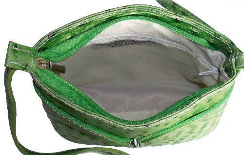 Primo Sacchi , Damen Umhängetasche grün