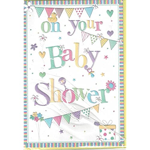 baby shower cards for girl