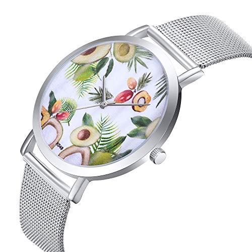 ear Herrenschmuckuhr mit Smartwatch Funktionen Silber -