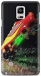 Expertdeal 3D Printed Hard Designer Samsung Galaxy Note 4 Mobile Back Cover Case Cover