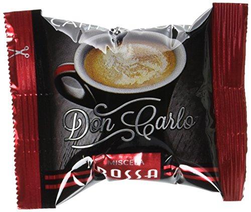 Caffè Borbone Capsula Caffè Don Carlo Miscela Red - Confezione da 50 Pezzi