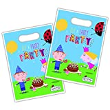 Official Ben and Holly Party Loot Bags x 8 by Ben & Holly