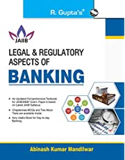 Legal & Regulatory Aspects of BANKING For JAIIB and Diploma in Banking & Finance Examination