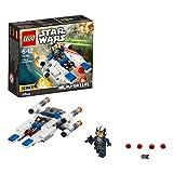 LEGO Star Wars U-Wing Microfighter, 109-tlg, Legosteine, Bausteine, Spielfigur, Spiel Figur, Spielzeug, Ab 6 Jahren, 75160