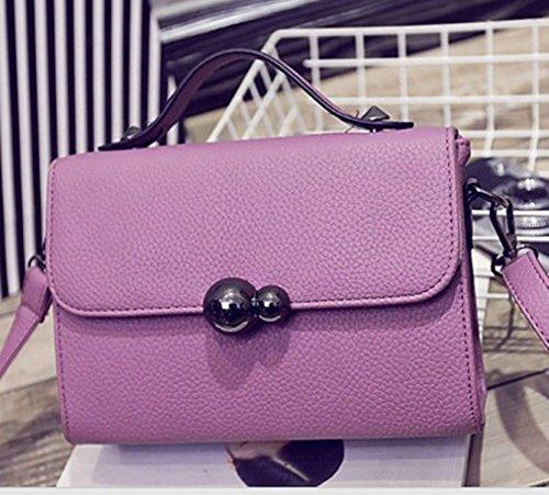 Neue Frauen Schultertasche koreanische Dame Messenger Bag Handtasche Herbst und Winter kleine quadratische Paket gray