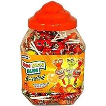 Bon Bon Bum Bubble Gum Bote Surtido - Paquete de 100 Unidades