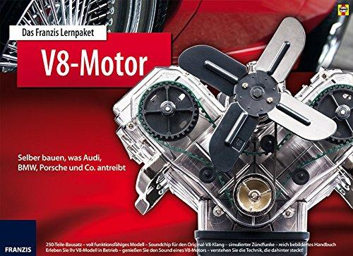 Preisvergleich Produktbild Das Franzis Lernpaket V8 Motor: Selber bauen, was Audi, BMW, Porsche und Co. antreibt