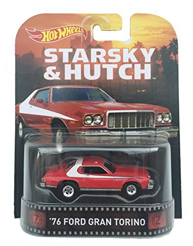1976 Ford Grand Torino Starsky & Hutch 1:64 Hot Wheels CFR34 Retro Entertainment