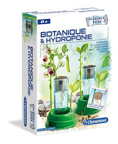Clementoni- Science & Jeu-Botanique et Hydroponie, 52347, Multicolore