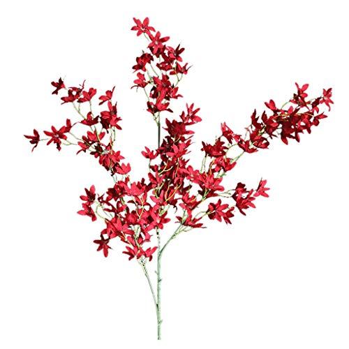 Committede Wohnaccessoires & Deko Kunstblumen Künstliche Seide Kunstblumen Pfingstrose Blumen Hochzeit Bouquet Braut Hortensie Dekor Künstliche Deko Blumen Gefälschte Blumen -