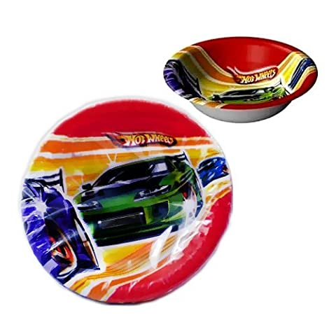 Hot Wheels 'Fast Action' Paper Bowls (8ct)