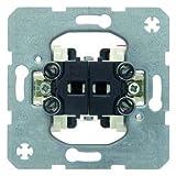 Berker Wipp-Serienschalter 3035 UP 10A beleuchtbar MODUL-EINSÄTZE Installationsschalter 4011334023357 (2 Stück Wippschalter)