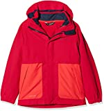 Vaude Kinder Kids Campfire 3in1 Jacket Girls Doppeljacke, rosa (Crocus), 110/116