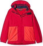 VAUDE Kinder Kids Campfire 3in1 Jacket Girls Doppeljacke, rosa (Crocus), 104
