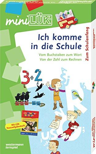 Preisvergleich Produktbild miniLÜK-Sets: miniLÜK-Set: Ich komme in die Schule: Übungsreihen zum Schulanfang ab 6 Jahren