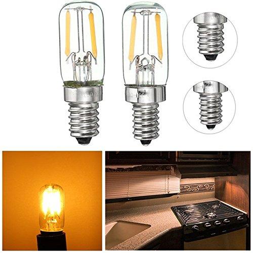 Pegasus Dimmable E12 / E14 1W Mini COB LED Kühlschrank Kühlschrank Gefrierschrank Glühlampe