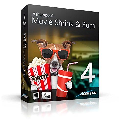 Ashampoo Movie Shrink & Burn 4 Vollversion (Product Keycard ohne Datenträger)