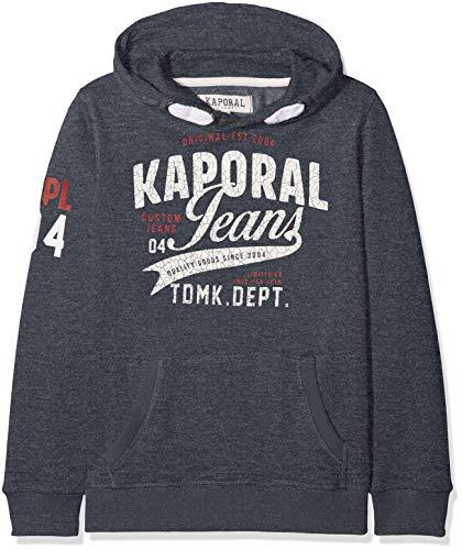Kaporal May, Sweat-Shirt àCapuche Garçon, Bleu (Navmel), 14A