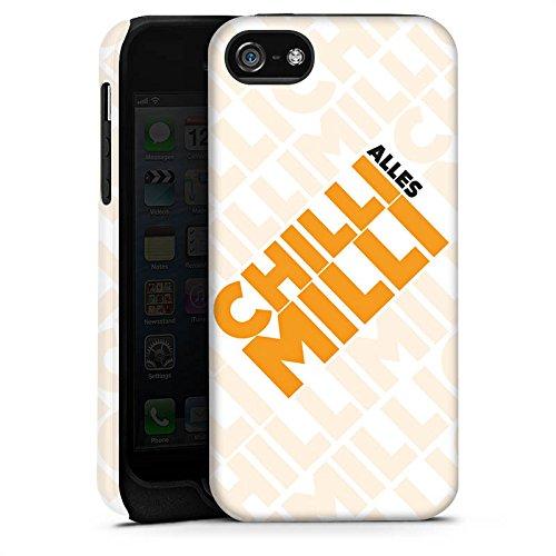 Apple iPhone X Silikon Hülle Case Schutzhülle LPmitKev Fanartikel Merchandise Alles Chilli Milli Weiss Tough Case matt