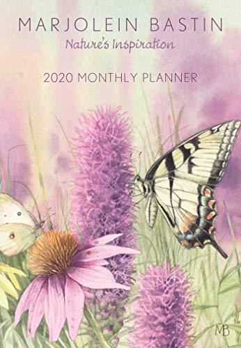 Marjolein Bastin 2020 Monthly Pocket Planner Calendar: Nature\'s Inspiration