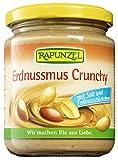 Rapunzel Bio Erdnussmus Crunchy mit Salz (2 x 250 gr)