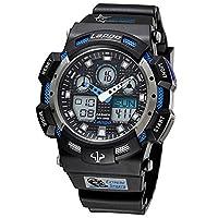 Men's watches/outdoor sports,student,waterproof digital watches-C