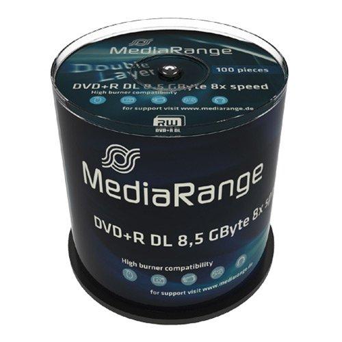 dvd 8gb MediaRange MR470DVD Rohling–DVD + R Rohlinge (Tortenschachtel)