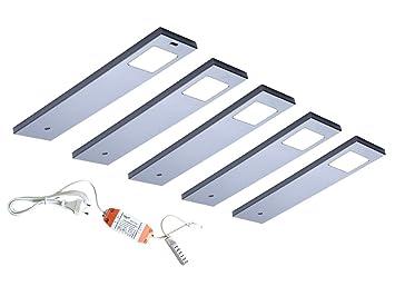 LED Unterbauleuchte Angelo 2er-5er Set Küchen- und Vitrinenleuchte ...