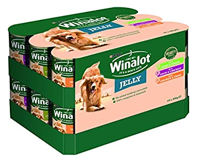 Winalot Hearty Duo Dog Food In Jelly 24, x 400g by NET1K