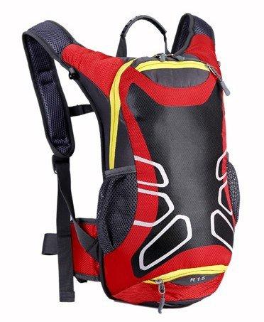 15L wasserdichte Outdoor Rucksack Radfahren Laufen Wandern Wasserbeutel Fahrrad Verpackung Rot