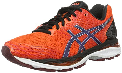 asics-men-gel-nimbus-18-training-running-shoes-orange-flame-orange-black-silver-75-uk-42-eu