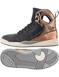 1203df6efa75a Reebok Women s Sneaker Shoes Alicia Keys Court Gravel Rose Gold - Sport  Sneakers