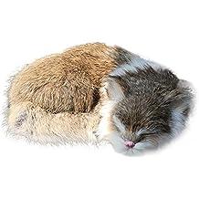 mAjglgE Lovely Simulación Animal Gato Muñeca Coche Hogar Decoración Juguete ...
