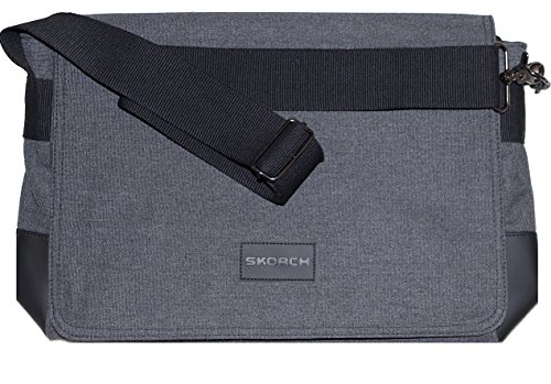 skorch-messenger-bag-high-quality-canvas-great-value-for-men-and-women-40x28x10cm-charcoal-grey
