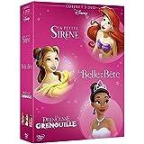 La petite sirène + La Belle et la Bête + La princesse et la grenouille