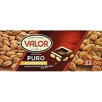 Chocolates Valor - Choholate puro con almendras enteras - 250 g