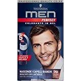 Testanera - Men Perfect, Colorante in Gel, 70 Castano Scuro Naturale - 1 confezione