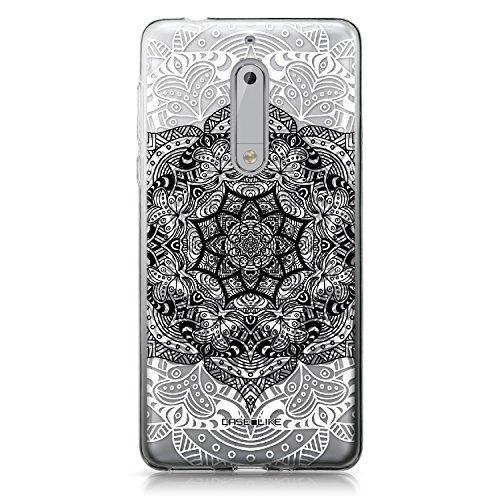 CASEiLIKE® Coque Nokia 5, Art Mandala 2097, TPU Silicone Soft Housse Etui Coque Pour Nokia 5