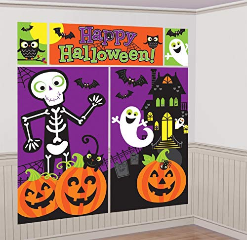 B-Creative Halloween-Szenen-Set für Kinder-Partys, 1,8 m