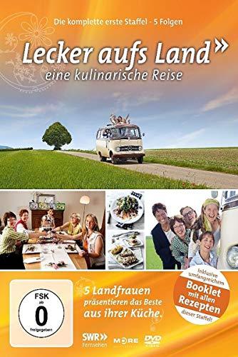 Lecker aufs Land - Eine kulinarische Reise: Die komplette erste Staffel (Leidenschaft Für Das Backen)