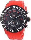 Nautec No Limit Herren-Armbanduhr XL Zero-Yon 2 Chronograph Quarz Plastik ZY2-H1 QZ/PCPCBKBK-RD