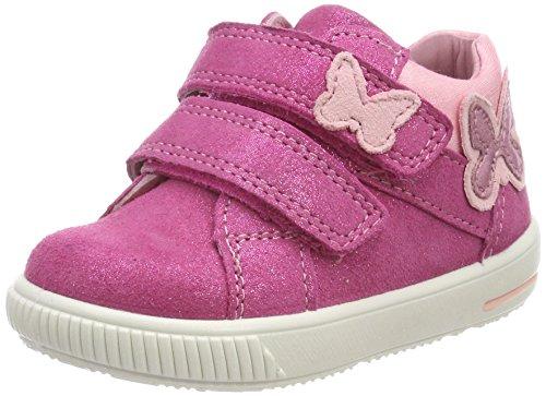 Superfit Baby Mädchen Moppy Sneaker, Pink (Pink Kombi), 24 EU