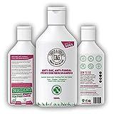 C&G Pets, shampoo anti-batterico anti-fungino per la pelle del cane, ad assorbimento rapido, trattamento terapeutico naturale, rinfrescante istantaneo, primo soccorso, sollievo per tagli, graze