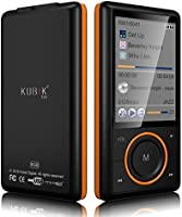 Kubik Evo 8GB MP3 Player with Radio and Expandable MicroSD/SDHC Slot - Black