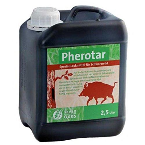 Lockmittel für Schwarzwild 2,5 Liter Wildschweine Buchenholzteer Pheromone