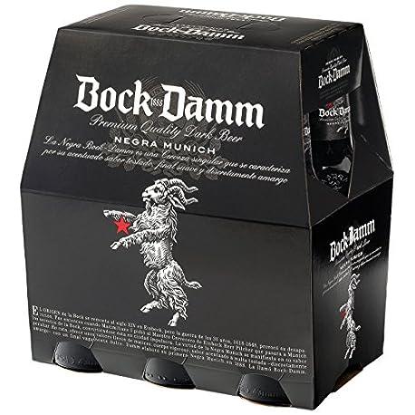 Bock Damm B D Bock Damm Pack 6 Botella 25 cl